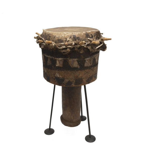 Batonga Budima Drum Black/Brown